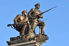 Monumento a los héroes de la primera guerra mundial Kaliningrado (Koeni anterior Fotografía de archivo libre de regalías