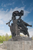 Monumento a los héroes de la Segunda Guerra Mundial Foto de archivo libre de regalías