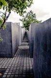 Monumento a los judíos asesinados de Europa Fotografía de archivo libre de regalías