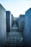 Monumento a los judíos asesinados de Europa Fotos de archivo libres de regalías