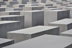 Monumento a los judíos asesinados de Europa Imágenes de archivo libres de regalías