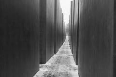 Monumento a los judíos asesinados de Europa Foto de archivo libre de regalías