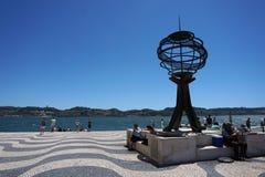 Monumento a los marineros portugueses imágenes de archivo libres de regalías