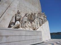Monumento a los marineros portugueses fotos de archivo libres de regalías