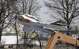 Monumento a los pilotos en Vawkavysk belarus Imágenes de archivo libres de regalías
