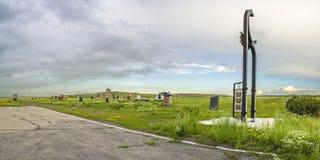 Monumento a los presos de KarLang en Spassky Fotos de archivo libres de regalías