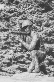 Monumento a los soldado-afganos Imagen de archivo
