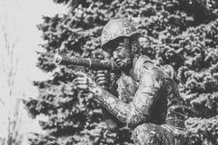 Monumento a los soldado-afganos Fotografía de archivo libre de regalías