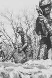 Monumento a los soldado-afganos Foto de archivo libre de regalías