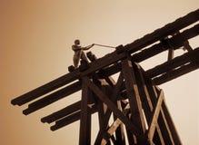 Monumento a los trabajadores chinos del ferrocarril - Canadá Imágenes de archivo libres de regalías