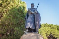 Monumento in Lsibon fotografia stock libera da diritti