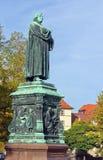 Monumento a Luther, Eisenach, Alemanha Imagens de Stock