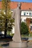 Monumento Lyudvikasu Reza (Ludwig Reza) (1776-1840) en Kaliningrado Foto de archivo libre de regalías