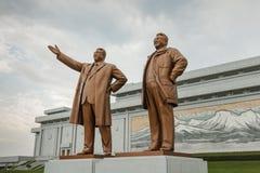 Monumento magnífico en Pyongyang Imagen de archivo libre de regalías