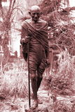 Monumento Mahatma Gandhi in NY Fotografie Stock Libere da Diritti