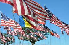 911 monumento Malibu Imágenes de archivo libres de regalías