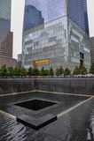 9-11 monumento - Manhattan, NY Imagenes de archivo