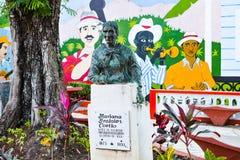 Monumento a Mariana Grajales Coello, um ícone cubano do ` s das mulheres Fotografia de Stock