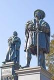 Monumento a Martin Luther fotografía de archivo