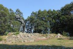 Monumento Meckin Kamen Imagen de archivo libre de regalías