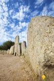 Monumento megalítico de la tumba en Cerdeña, Italia imagen de archivo libre de regalías