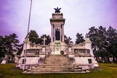 Monumento memorável da primeira guerra mundial fotos de stock