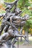 Monumento memorável, Gettysburg, PA Imagens de Stock