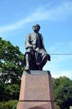 Monumento a Mikhail Lomonosov fotos de archivo libres de regalías