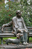 Monumento a Mikola Yakovchenko Fotografía de archivo libre de regalías