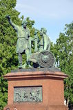Monumento a Minin e a Pozharsky Foto de Stock