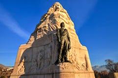 Monumento mormón del batallón, Salt Lake City, Utah foto de archivo