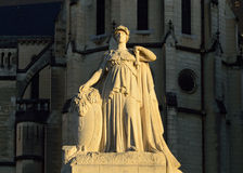 Monumento Mort Pau foto de archivo libre de regalías