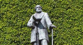 Monumento na homenagem a Ezequiel Montes Ledezma Imagem de Stock