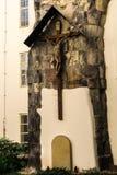 Monumento na Virgem Maria da igreja da jarda Imagem de Stock