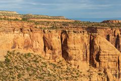 Monumento nacional áspero de Colorado Imagem de Stock