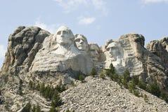 Monumento nacional 9 de Rushmore del montaje Imagen de archivo libre de regalías