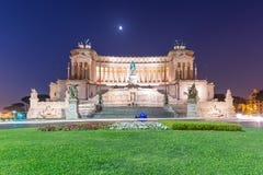 Monumento nacional al della Patria, Roma, Italia de Victor Emmanuel II Altare Foto de archivo