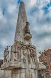Monumento nacional, Amsterdão Imagens de Stock