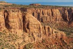 Monumento nacional bonito de Colorado Fotos de Stock