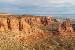Monumento nacional cênico bonito de Colorado Fotografia de Stock Royalty Free