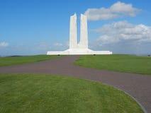 Monumento nacional canadiense de Vimy Imágenes de archivo libres de regalías