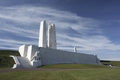 Monumento nacional canadiense de Vimy Imagenes de archivo