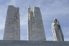 Monumento nacional canadiense de Vimy Foto de archivo