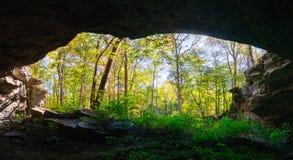 Monumento nacional da caverna de Russell Imagem de Stock Royalty Free