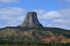 monumento nacional da Diabo-torre Fotografia de Stock Royalty Free