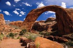 Monumento nacional da ponte do arco-íris Foto de Stock Royalty Free