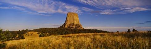Monumento nacional da torre do diabo Imagens de Stock Royalty Free