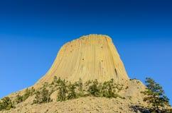 Monumento nacional da torre dos diabos - Wyoming Foto de Stock Royalty Free
