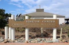 Monumento nacional de Cabrillo Foto de archivo