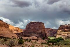 Monumento nacional de Canyon De Chelly Imagen de archivo